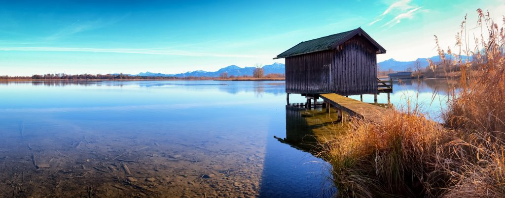 A Hut in Water