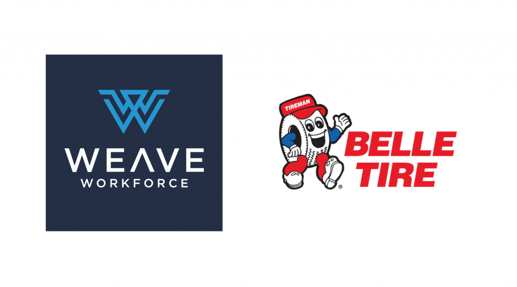Weave Workforce and Belle Tire Logos